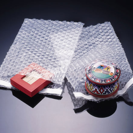 Bubble wrap is a light & flexible packaging material made of low-density polyethylene, ideal to protect fragile & irregularly shaped products.